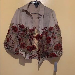 New Floral Top For Summer